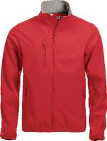 CLIQUE Softshell Jacke  Basic 020910 rot XS - toolster.ch