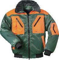 Forstschutzpilotenjacke grün-orange L/54-56 - toolster.ch