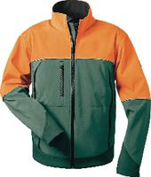 Softshelljacke grün-orange S 46-48 - toolster.ch