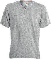 PAYPER T-Shirt  V-Neck grau meliert L - toolster.ch