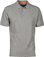 PAYPER Polo-Shirt  Venice grau meliert XL - toolster.ch