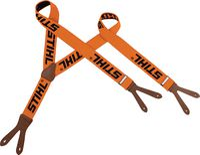 STIHL Hosenträger  orange zum Knöpfen Länge 120 cm - toolster.ch