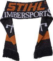 STIHL Schal  TIMBERSPORTS® Jacquardstrick schwarz/orange/weiss - toolster.ch