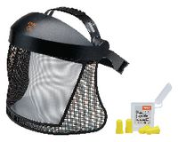 STIHL Gesichtschutz mit Nylongitter SNR 33, mit 4 Gehörschutzstöpseln - toolster.ch