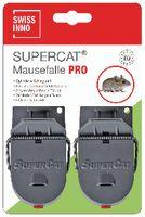 SWISSINNO Mausefalle Pro SuperCat mit Köder, Pack à 2 Stück - toolster.ch
