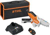 STIHL Akku-Gehölzschneider  GTA 26 AS 10.8V, Schienenlänge 10 cm mit Akku AS 2 + Ladegerät AL 1 - toolster.ch