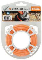 STIHL Mähfaden  rund auf Rolle Ø 2.4 mm x 86.0 m, orange - toolster.ch