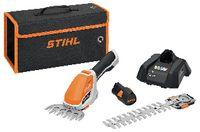 STIHL Akku-Strauchschere  HSA 26 AS 10.8V, Schnittlänge 20 cm mit Akku AS 2 + Ladegerät AL 1 - toolster.ch