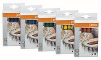 STIHL Signierkreide Marker PRO gelb, 12 cm, Pack à 12 Stk. - toolster.ch