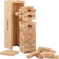 STIHL Spiel Holzstapelturm mit 54 Holzklötzchen - toolster.ch