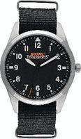 STIHL Armbanduhr aus Edelstahl, Ø 40 mm, wasserdicht - toolster.ch