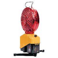 TRIOPAN Baustellenlampe Helios Master V4 mit Klappfüssen 200 mm, rot - toolster.ch