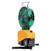 TRIOPAN Baustellenlampe Helios Master V4 mit Klappfüssen 200 mm, grün - toolster.ch
