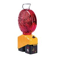 TRIOPAN Baustellenlampe Helios Master V4 ohne Klappfüsse 200 mm, rot - toolster.ch