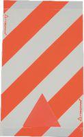 TRIOPAN Warnsignal für Hebebühne rot/weiss mit Reflexecken 47x28cm - toolster.ch