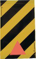 TRIOPAN Warnsignal für Hebebühne rot/weiss 47x28cm - toolster.ch