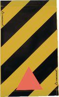 TRIOPAN Warnsignal für Hebebühne gelb/schwarz 47x28cm - toolster.ch