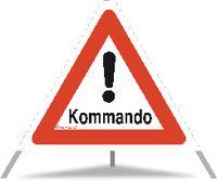TRIOPAN Faltsignal Kommando Ausführung N90 90cm - toolster.ch