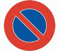 Signaltafel Parkieren verboten 2.50 Ausführung Scotchlite HIP 40 cm - toolster.ch