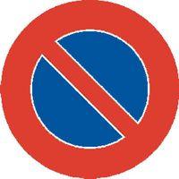 Signaltafel Parkieren verboten 17.50 Lackiert 20 cm - toolster.ch