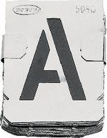 WALKRON Zinkschablone Buchstaben 30mm - toolster.ch