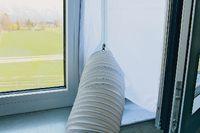 KIBERNETIK Fensterabdichtung für mobiles Klimagerät 230 Gramm - toolster.ch