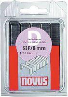 NOVUS Flachdrahtklammern  Typ 53 F in Klarsichtpackung 12 mm / 600 Stück - toolster.ch