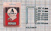NOVUS Feindrahtklammern  Typ 53 in Klarsichtpackung 10 mm / 1000 Stück - toolster.ch