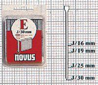 NOVUS Nägel  Typ J in Klarsichtpackung 16 mm / 1000 Stück - toolster.ch