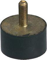Anschlagpuffer Form A mittlere Härte 10 x 10 / M4   - - toolster.ch