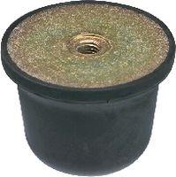 Anschlagpuffer Form E mittlere Härte 50 x 35 / M10  DIN 95364 - toolster.ch