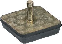 Anschlagpuffer Form G mittlere Härte 80 x 25 / M12   - - toolster.ch