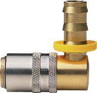 MOULDPRO Schnellverschlusskupplung H Push Lock 90° mit Ventil 9 / S6 - toolster.ch
