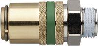 MOULDPRO Sicherheits-Schnellkupplung H gerade mit Gewinde ohne Ventil 9/M14x1,5 / S6 - toolster.ch