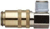 MOULDPRO Schnellverschlusskupplung H 90° mit Gewinde und Ventil 13/M16x1,5 / S9 - toolster.ch