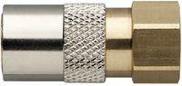 MOULDPRO Schnellverschlusskupplung D gerade mit Innengewinde und Ventil 6/G1/8 - toolster.ch