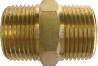 """MOULDPRO Doppelnippel mit konischem Gewinde R 1/4"""" / R 1/4"""" - toolster.ch"""