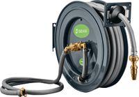 """GEKA Autom. Schlauchaufroller PA20SK mit ® plus Wasserschlauch 3/4"""" 20m + 2m & Armaturen - toolster.ch"""