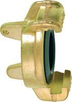 GEKA Blindkupplung ® plus Messing 3mm Bohrung für Kettchen - toolster.ch