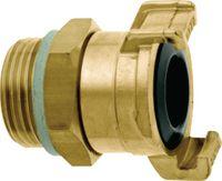 """GEKA Schnellkupplung 360 drehbar ® plus mit Aussengewinde, drehbar, Messing G 3/4"""" - toolster.ch"""