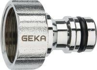 """GEKA Hahnstecker """"Stecksystem"""" ® plus mit Innengewinde, verchromtes Messing G 3/4"""" - toolster.ch"""