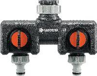 "GARDENA 2-Wege-Verteiler G3/4"" / G1"" 8193-20 - toolster.ch"