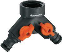"""GARDENA Zwei-Wege-Ventil 26.5 mm (G3/4"""") 938-20 - toolster.ch"""