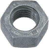 Sechskantmuttern ~0,8d Stahl <B>Kl. 8</B> / schwarz vergütet M 24 - toolster.ch