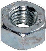 Sechskantmuttern ~1d Stahl 6 / verzinkt-blau M  4 - toolster.ch