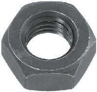 Sechskantmuttern ~0,8d Stahl <B>Kl. 8</B> / verzinkt-blau mit ecosyn<sup>®</sup>-lubric Black M 10 - toolster.ch