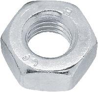 Sechskantmuttern ~0,8d Stahl <B>Kl. 8</B> / verzinkt-blau mit ecosyn<sup>®</sup>-lubric Silver M 10 - toolster.ch