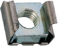 Käfigmuttern Stahl / verzinkt-blau (Mutter) / Käfig: INOX M  6 / 0.7-1.6 - toolster.ch