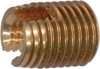 Gewinde-Einsätze Ensat<sup>®</sup> Typ 302 Stahl einsatzgehärtet / verzinkt-gelb selbstschneidend M 6 / 10x14 - toolster.ch