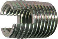 Gewinde-Einsätze Ensat<sup>®</sup> Typ 302 Stahl einsatzgehärtet / verzinkt-blau selbstschneidend M 5 - toolster.ch